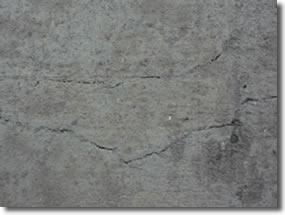 concrete crack defects